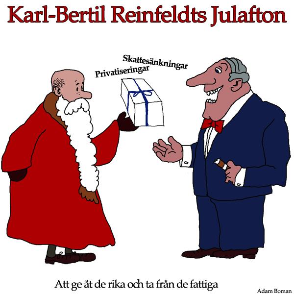 Karl-Bertil Reinfeldts Julafton