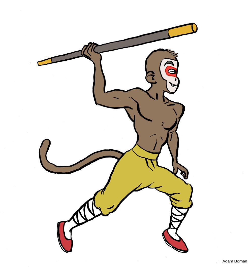 Sun Wukong - The Monkey King by Adam Boman
