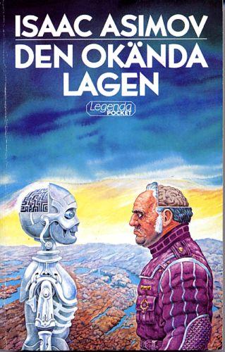 Den okända lagen av Isaac Asimov, omslag av Staffan Göransson
