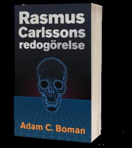 Rasmus Carlssons redogörelse cyberpunk-omslag
