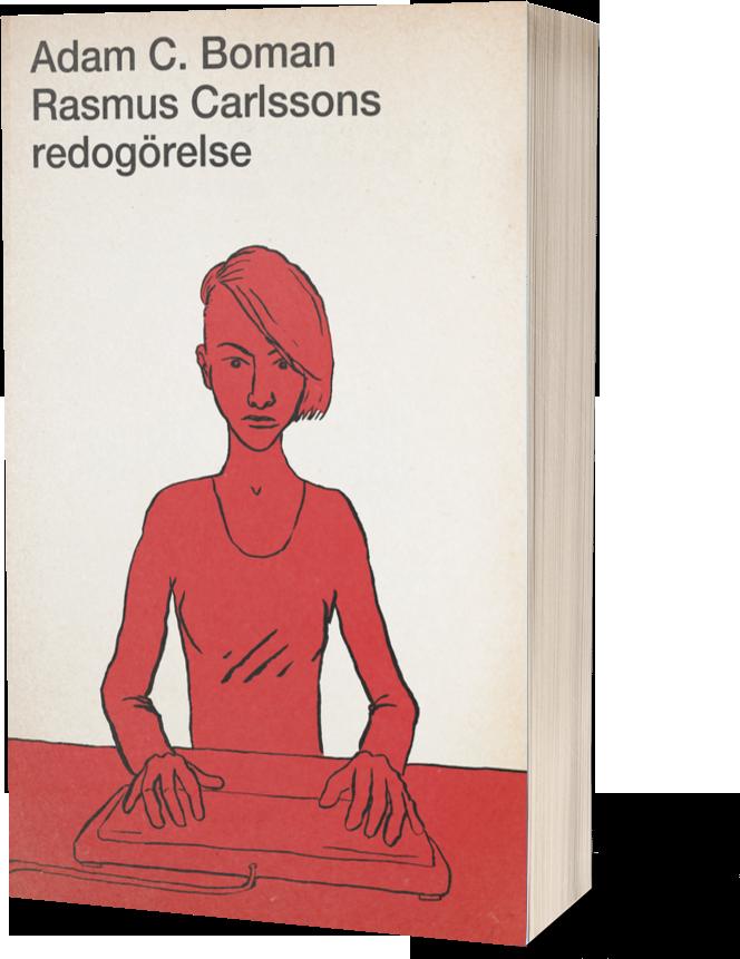 Rasmus Carlssons redogörelse gammaldags pocket-omslag