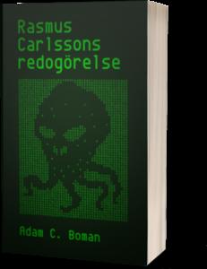 Rasmus Carlssons redogörelse retro-omslag