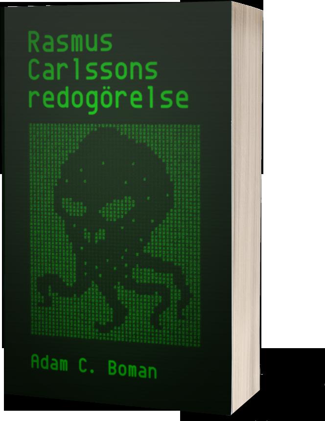 Rasmus Carlssons redogörelse originalomslag