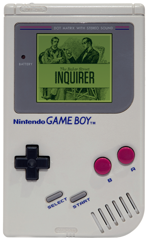 Responsive web design on gameboy